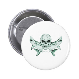 Pirates Skulls Collection by FishTs com Buttons