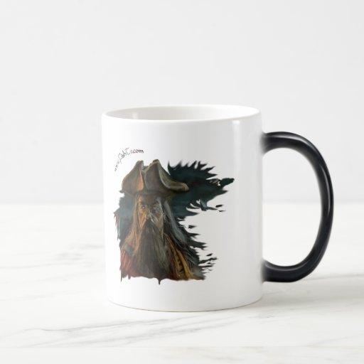 Pirates/Skulls Collection by FishTs.com 11 Oz Magic Heat Color-Changing Coffee Mug