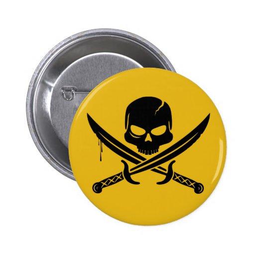 Pirates Smilie Pin