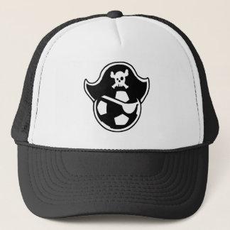 Pirates Soccer Team or Club Logo Trucker Hat
