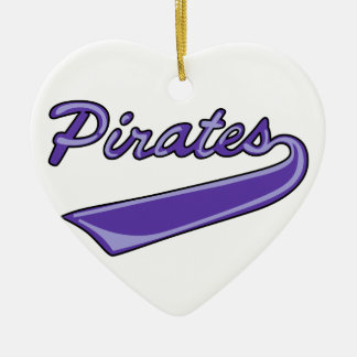 Pirates Team Ceramic Ornament