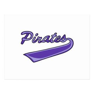 Pirates Team Postcard