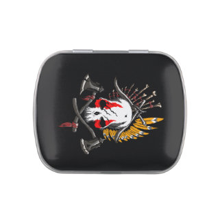 Pirates Treasure Black Jelly Belly™ Candy Tin