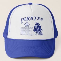 Pirates Trucker Hat