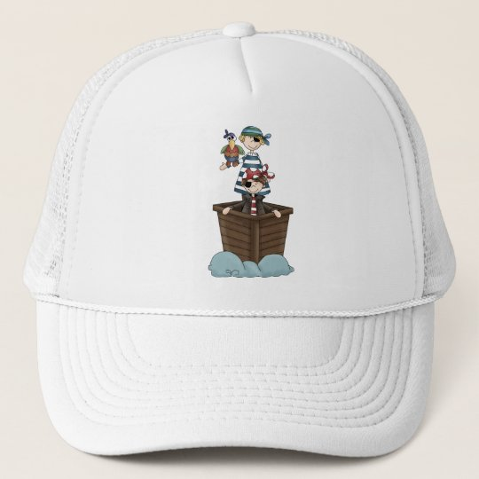 Pirates · Two Pirates in a Boat Trucker Hat