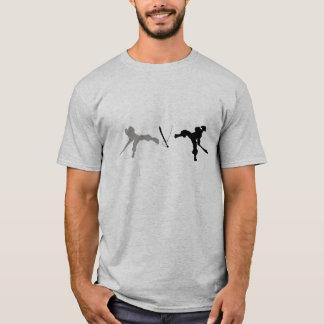 Pirates Vs Ninja Battle T T-Shirt