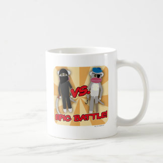 Pirates Vs. Ninja Monkeys Coffee Mug