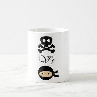 Pirates-Vs-Ninjas Coffee Mug