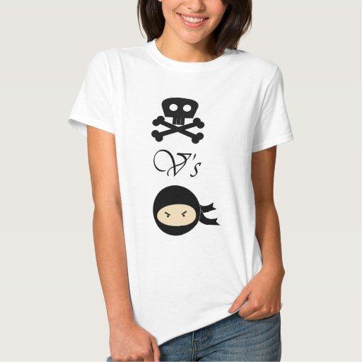 Pirates-Vs-Ninjas T Shirts