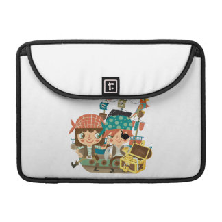 Pirates With Treasure Sleeves For MacBook Pro