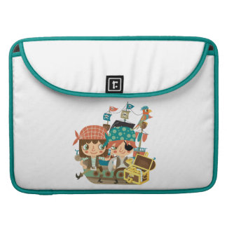 Pirates With Treasure Sleeve For MacBooks