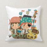 Pirates With Treasure Pillows
