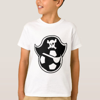 Pirates Youth Soccer Team or Club Logo T-Shirt