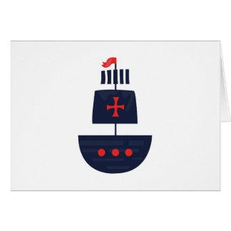 Pirateship  Base Greeting Card