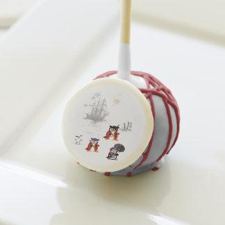 Piratez of Penguinzance Cakepops