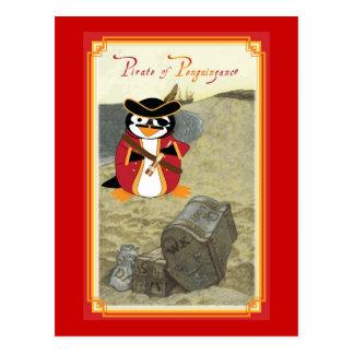 Piratez of Penguinzance Postcard
