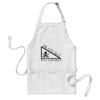 Piratically Inclined Adult Apron