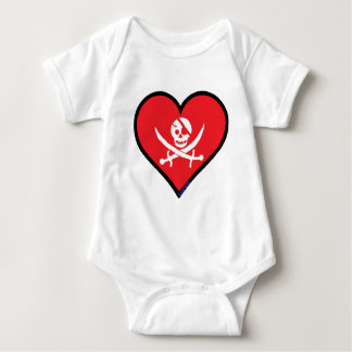pirating Chameleon Baby Bodysuit