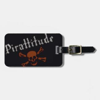 Pirattitude Bag Tag