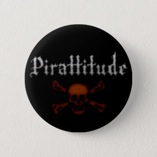 Pirattitude Black Button
