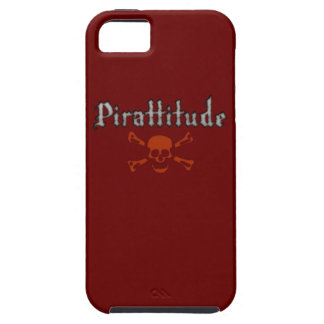 Pirattitude Blood Jolly Roger iPhone 5 Cases