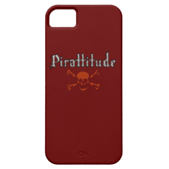 Pirattitude Blood Jolly Roger iPhone SE/5/5s Case