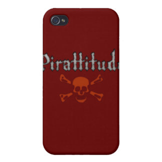 Pirattitude Bloody Jolly Roger iPhone 4/4S Case