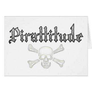 Pirattitude Greeting Card
