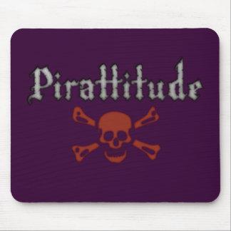 Pirattitude Purple Mousepad