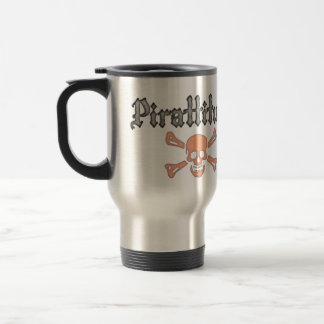 Pirattitude Right-Handed Travel Mug