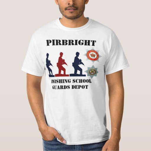Pirbright Finishing School Guards Depot I.G. Tee
