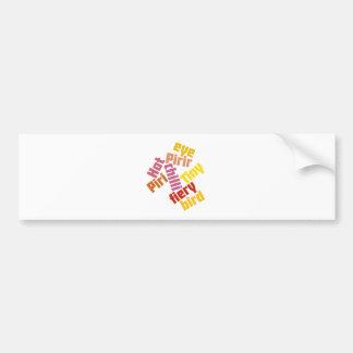 Piri Piri Bumper Sticker