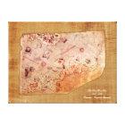 Piri Reis Map Canvas Print