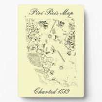 Piri Reis Map Plaque