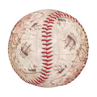Piri Reis Old World Map Baseball