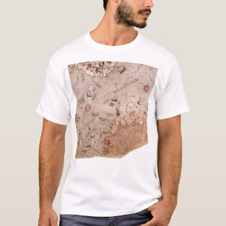 Piri Reis Old World Map T-Shirt