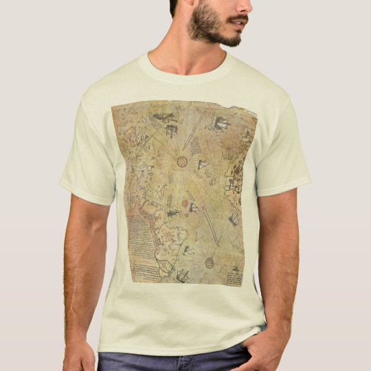 Piri Reis' World Map T-Shirt