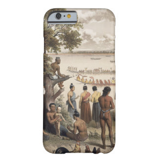 Pirogue races on the Bassac River, detail from 'At Barely There iPhone 6 Case