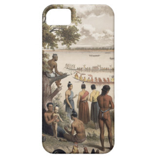 Pirogue races on the Bassac River, detail from 'At iPhone SE/5/5s Case