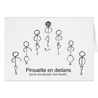 Pirouette (4th) card