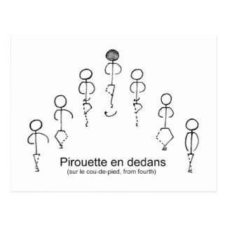 Pirouette (4th) postcard