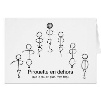 Pirouette (5th) card