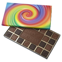 Pirouette Box of Chocolates 45 Piece Assorted Chocolate Box