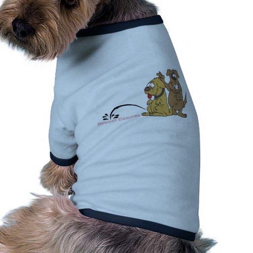 Pis en cáncer de pecho ropa para mascota