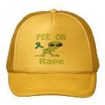 Pis en el gorra de la violación
