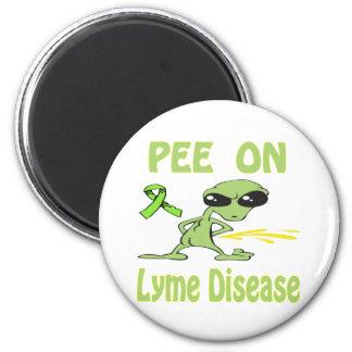 Pis en el imán de la enfermedad de Lyme