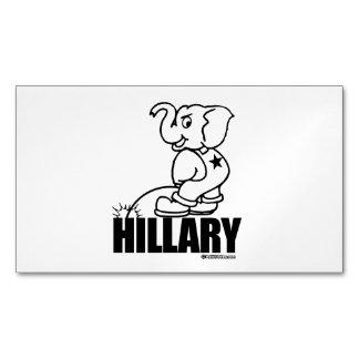 Pis en Hillary