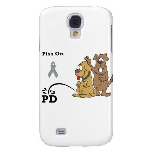 Pis en la enfermedad de Parkinson Funda Para Galaxy S4