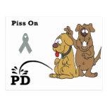 Pis en la enfermedad de Parkinson Tarjeta Postal