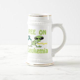 Pis en la taza de la leucemia